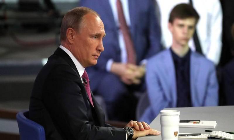 Путин проведет «Прямую линию» 7 июня
