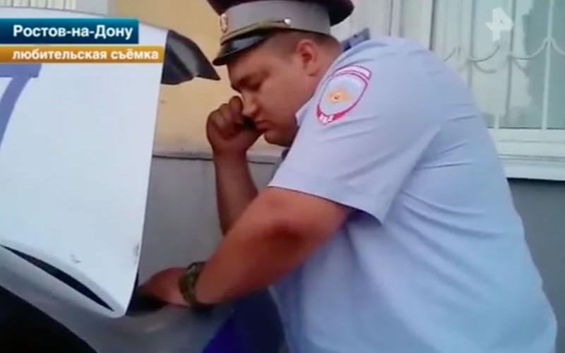 Настырный ростовчанин вынудил полицейских выписать штраф самим себе