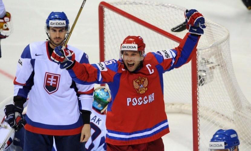 Россия одержала пятую победу на Чемпионате мира по хоккею