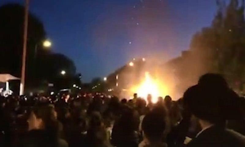 Мощный взрыв прогремел на еврейском празднике в Лондоне