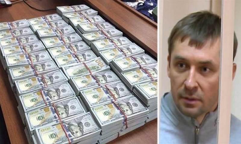 Украдены несколько миллионов долларов, изъятые у полковника Захарченко