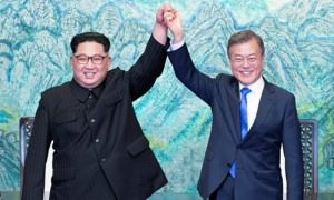 Глава Южной Кореи объявил о мире с КНДР