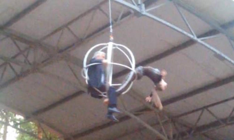 Министра спорта сделали циркачом в Рязанской области