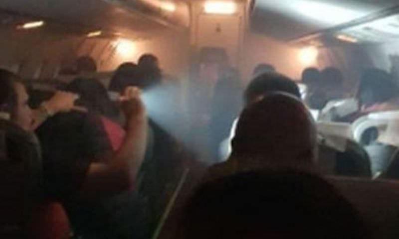 Самолет с перуанскими болельщиками загорелся в Сибири