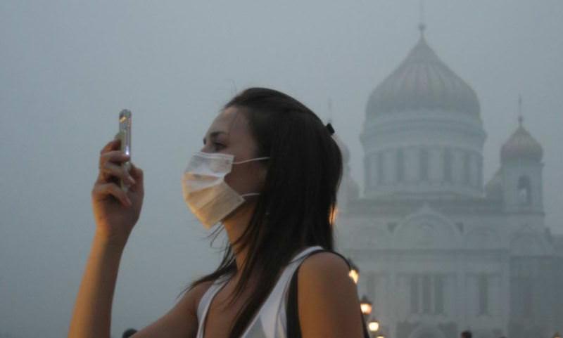 Москва и Питер попали в список самых отравленных городов мира
