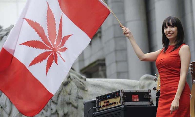 В Канаде легализовали марихуану