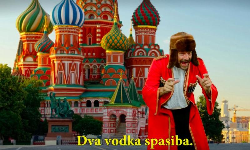 Dva Vodka Spasiba: бельгиец записал клип о России к ЧМ-2018