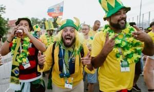 Бразильский фанат