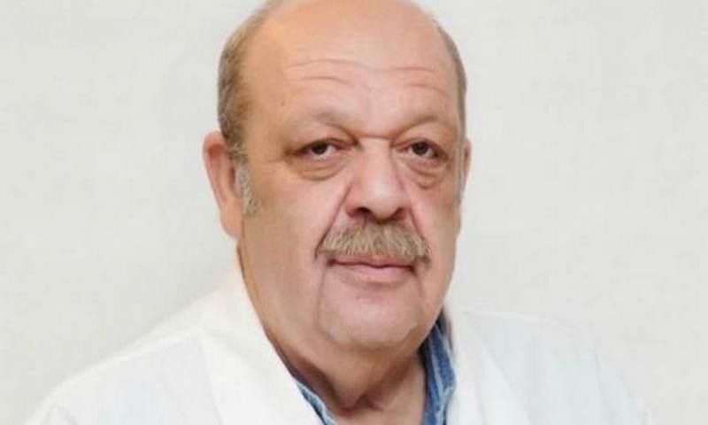Знаменитый врач Яков Бранд скончался на работе в НИИ им. Склифосовского