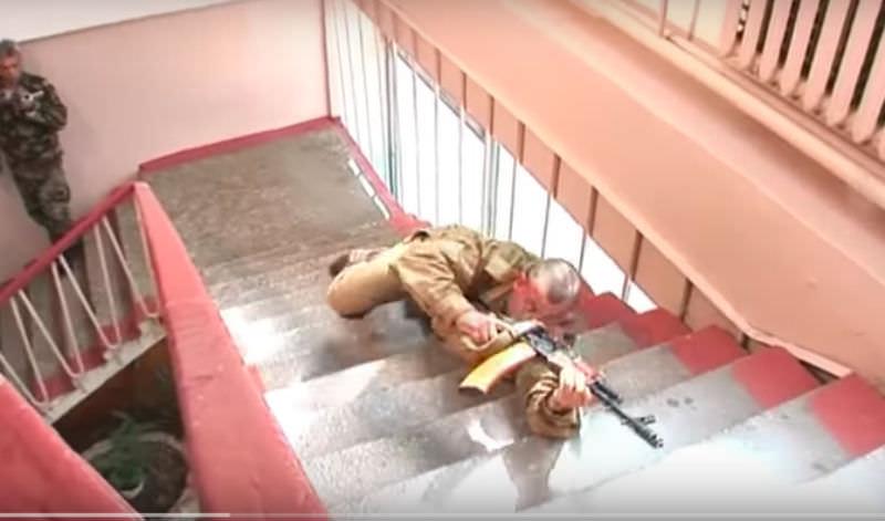 Американского морпеха сразило боевое искусство российских солдат