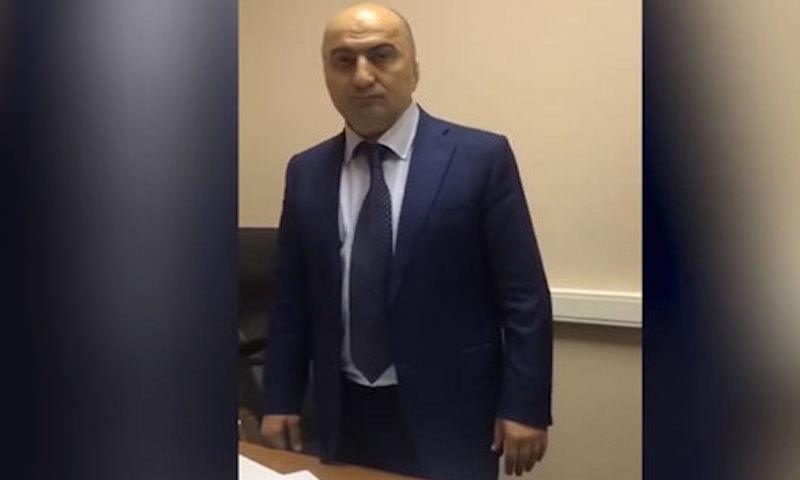 ФСБ опубликовала видео задержания главы СБ МВД Дагестана