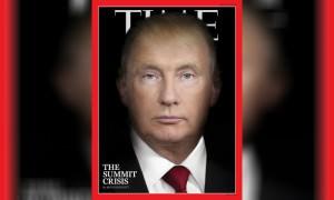 Гибрид Путина и Трампа появился на обложке TIME