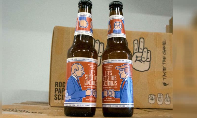 Финны выпустили пиво к встрече Путина и Трампа
