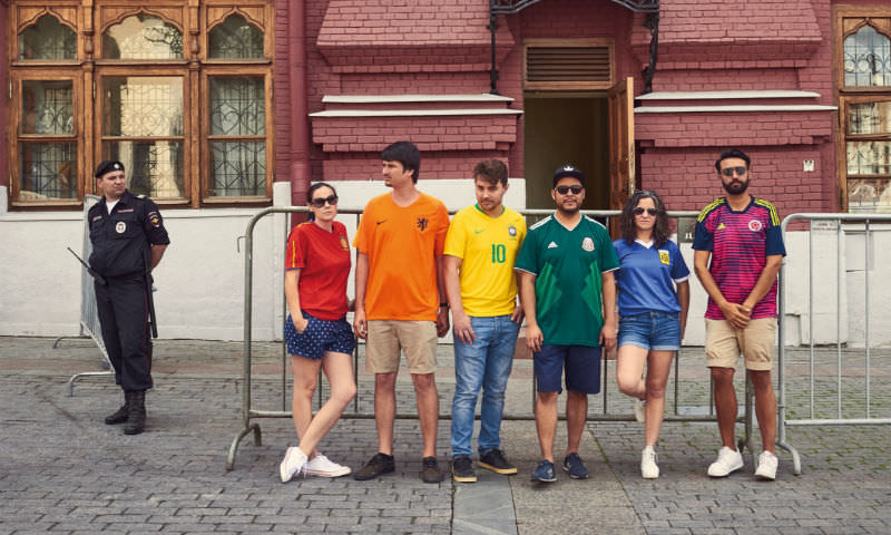 Секретный гей-парад состоялся в центре Москвы