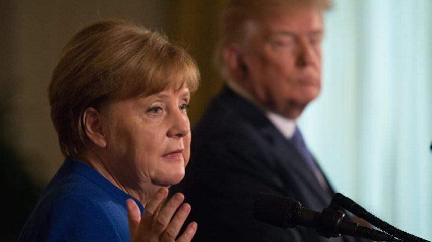 Меркель поставила на место унизившего ее Трампа