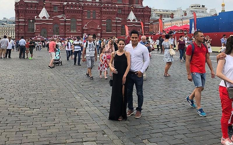 Первая свадьба ЧМ 2018: мексиканский болельщик