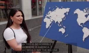 Американцы не смогли показать на карте даже США