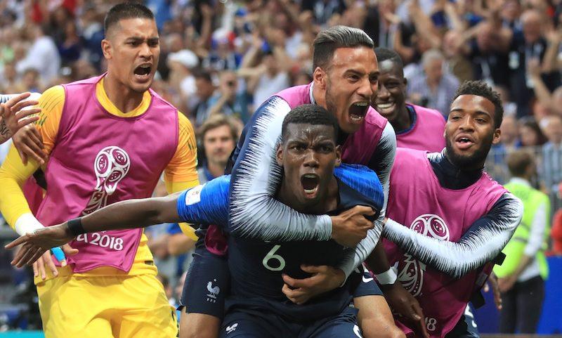 Франция - чемпион мира 2018 года!