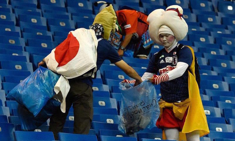 После вылета с чемпионата ушли по-японски