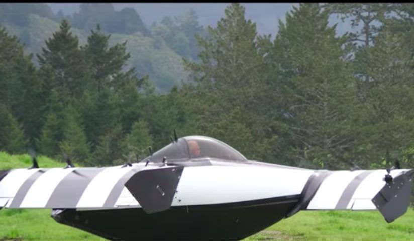 В США испытали летающий автомобиль по цене внедорожника