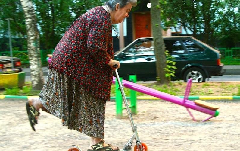 Телеканал ищет жизнерадостных бабулек вести программу