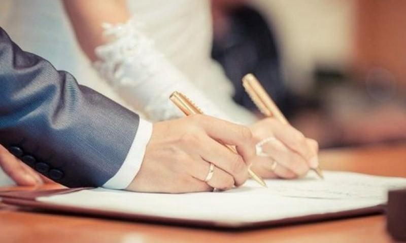 Россиянам позволят самим выбирать день регистрации брака
