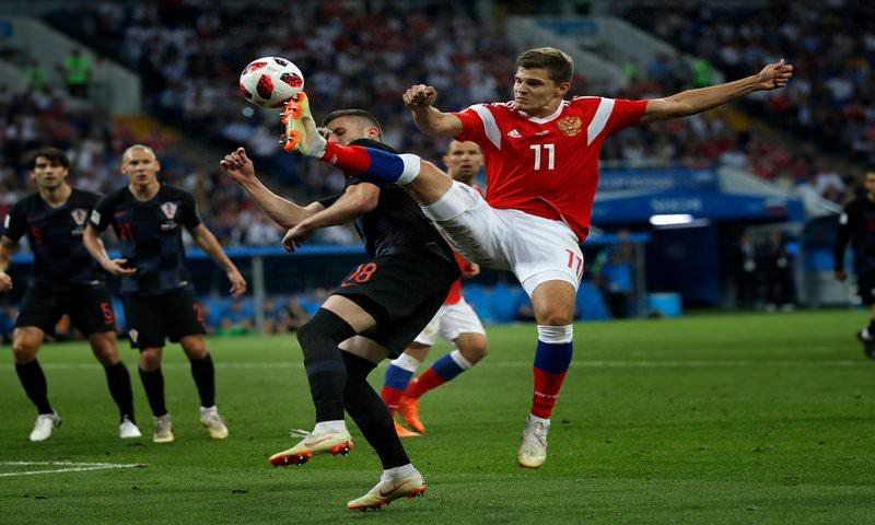 Владимир Путин назвал игроков сборной России героями