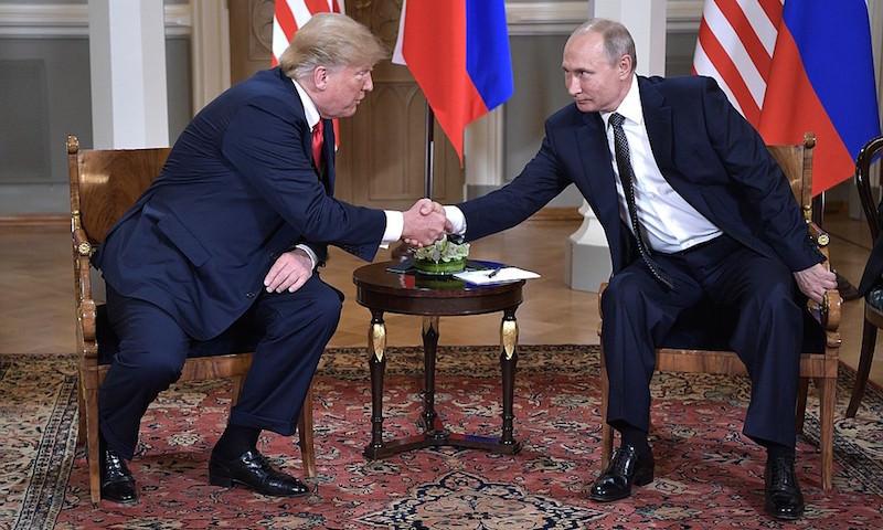 Историческая встреча Путина и Трампа состоялась