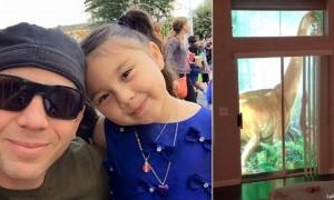 Креативный папа решил удивить свою 7-летнюю дочь. Получилось