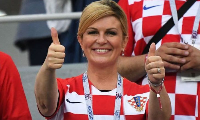 Президент Хорватии обратилась к россиянам с просьбой
