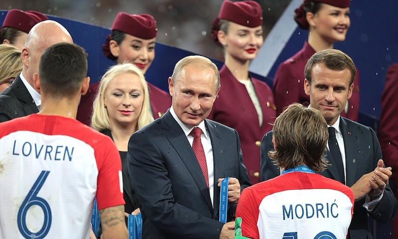 Путин поделился мнением о матче Франция-Хорватия