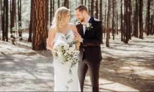 А чтоб не нервничал: девушка разыграла жениха на свадьбе