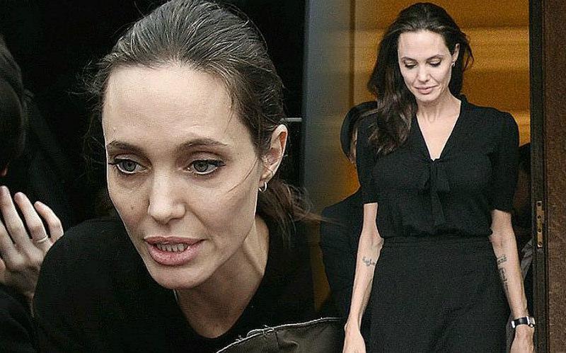 «Как высохшая мумия»: Джоли подурнела после развода с Питтом