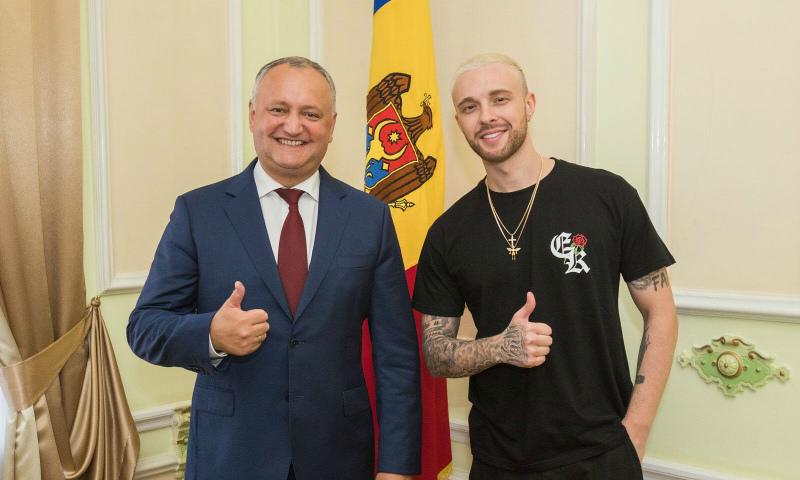 Крид приготовил сюрприз для детей президента Молдавии