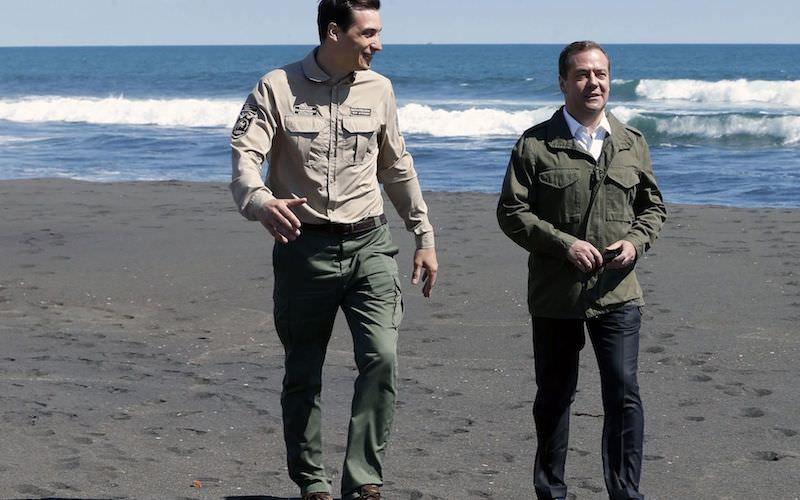 На Avito продают песок, по которому ходил сам Медведев