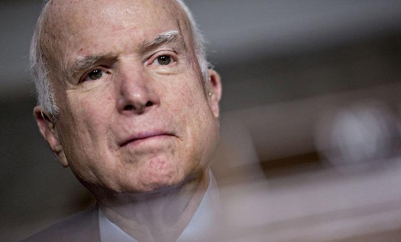 Этой ночью скончался сенатор Джон Маккейн