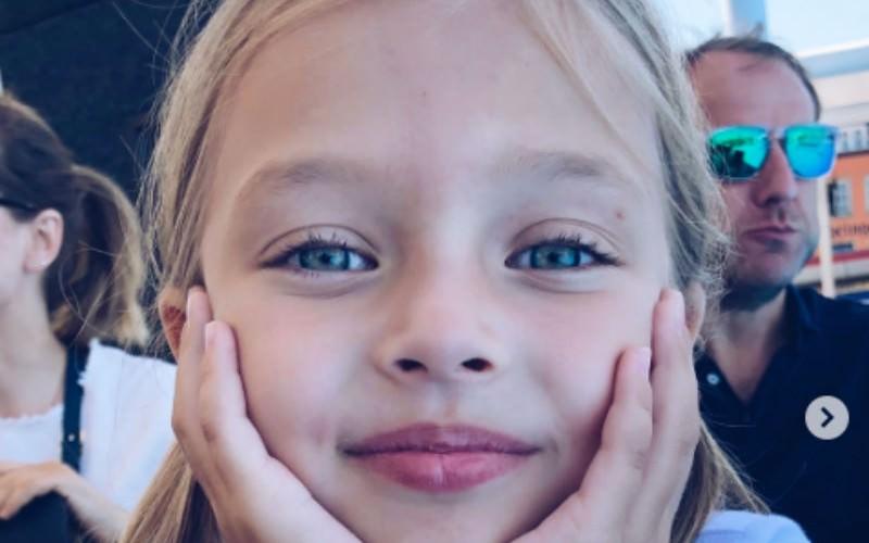 Голубоглазый ангел: самая востребованная россиянка-девятилетняя модель