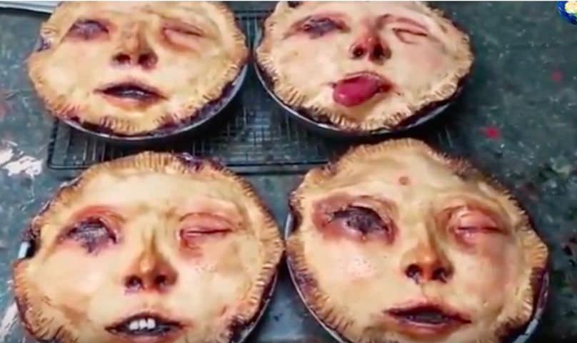 Американский кондитер печет пироги-ужастики