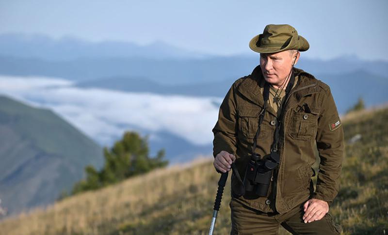 Путин устроил себе маленький отпуск в последние выходные августа