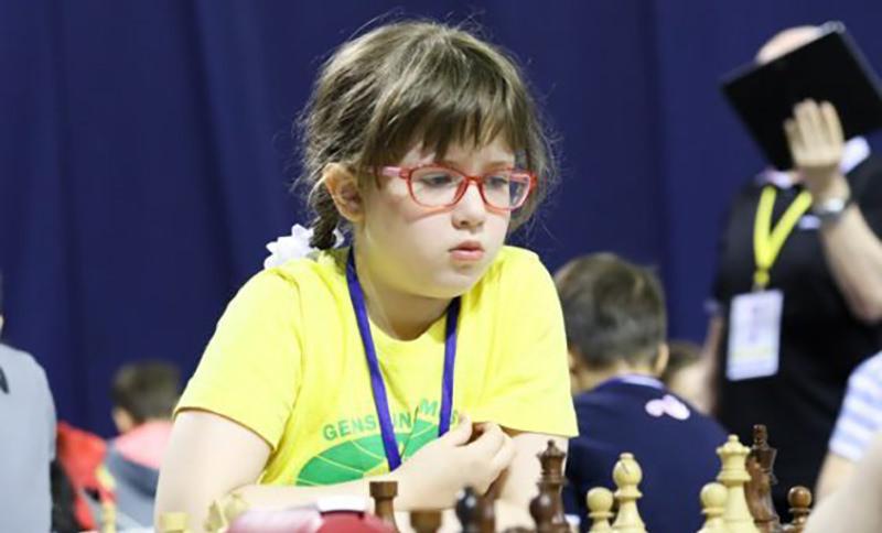 9-летняя россиянска привезла 4 медали с первенства Европы по шахматам