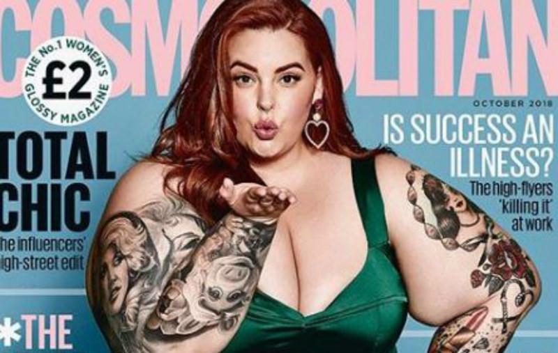 «Красиво или нет»: модель весом в 150 кг поместили на обложку Cosmo
