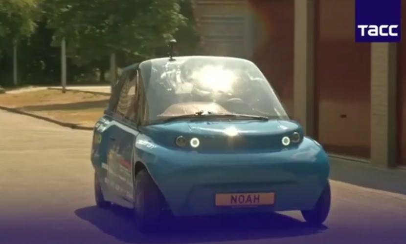 В Голландии создали автомобиль из... сахара.