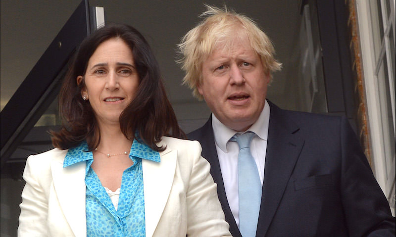 Борис Джонсон разводится с женой
