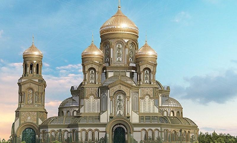 Минобороны РФ решило построить колоссальный православный храм