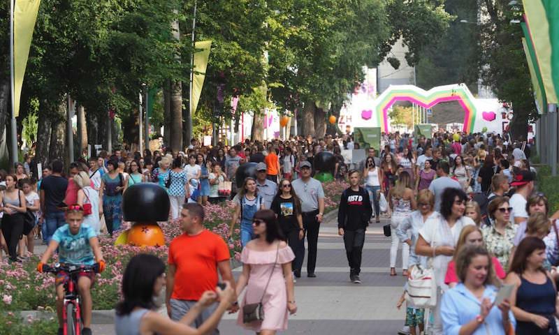Закончил свою работу VIII Воронежский международный фестиваль садов и цветов «Город-Сад»