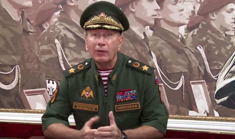 Глава Росгвардии вызвал Навального на дуэль
