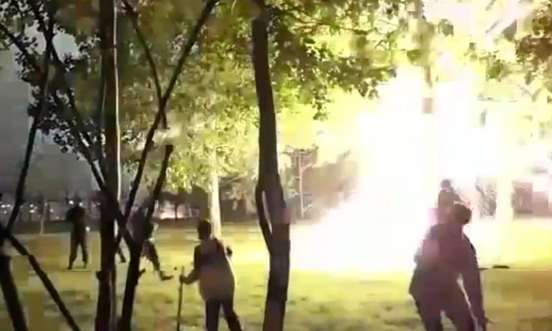 Фейерверк на День Москвы чуть не поубивал людей в Южном Бутово