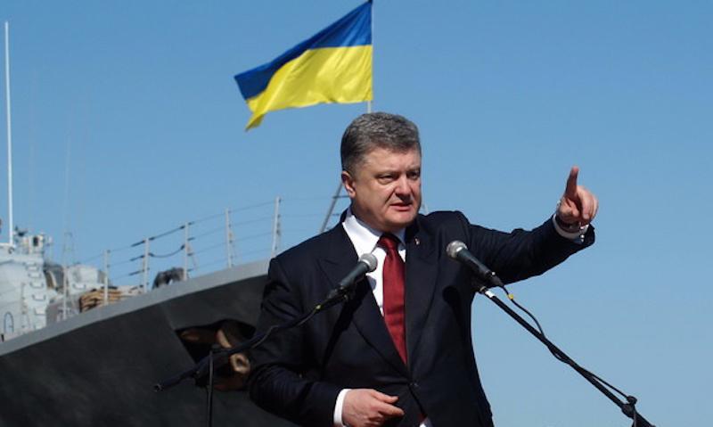 Порошенко захотел изгнать Черноморский флот из Крыма