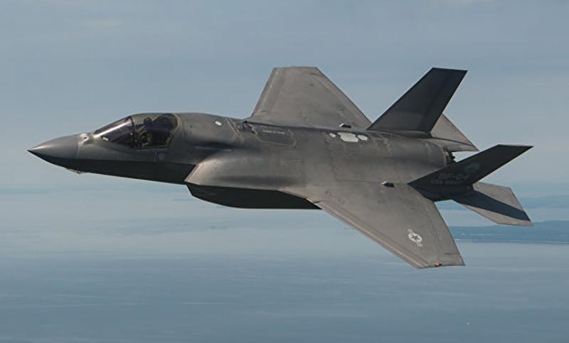 Новейший истребитель F-35B разбился в США