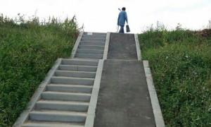 Спуск для инвалидов-экстремалов построили во Владимире